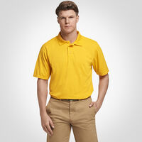 Men's Dri-Power® Performance Golf Polo GOLD