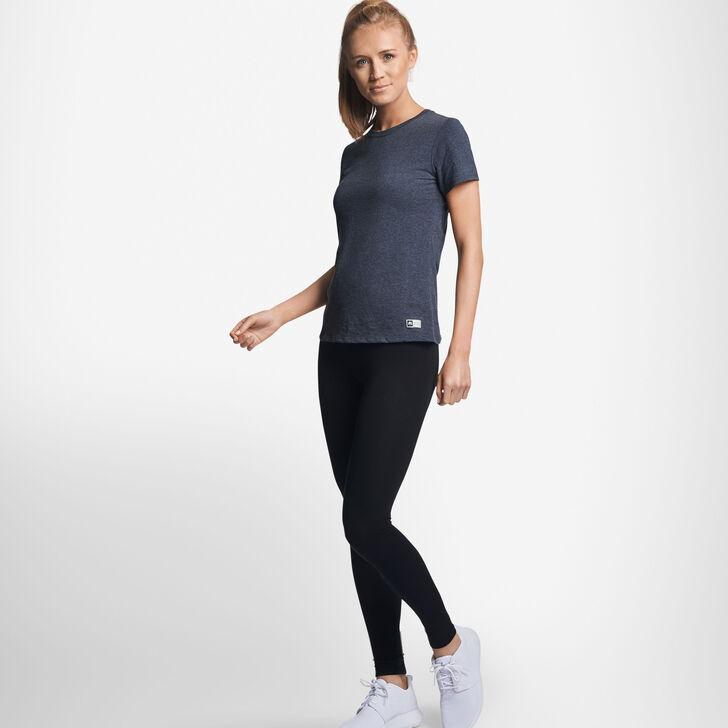 Women's Cotton Performance T-Shirt BLACK HEATHER