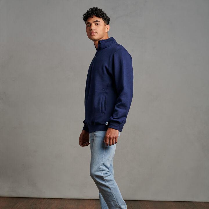 Men's Dri-Power® Fleece 1/4 Zip Navy