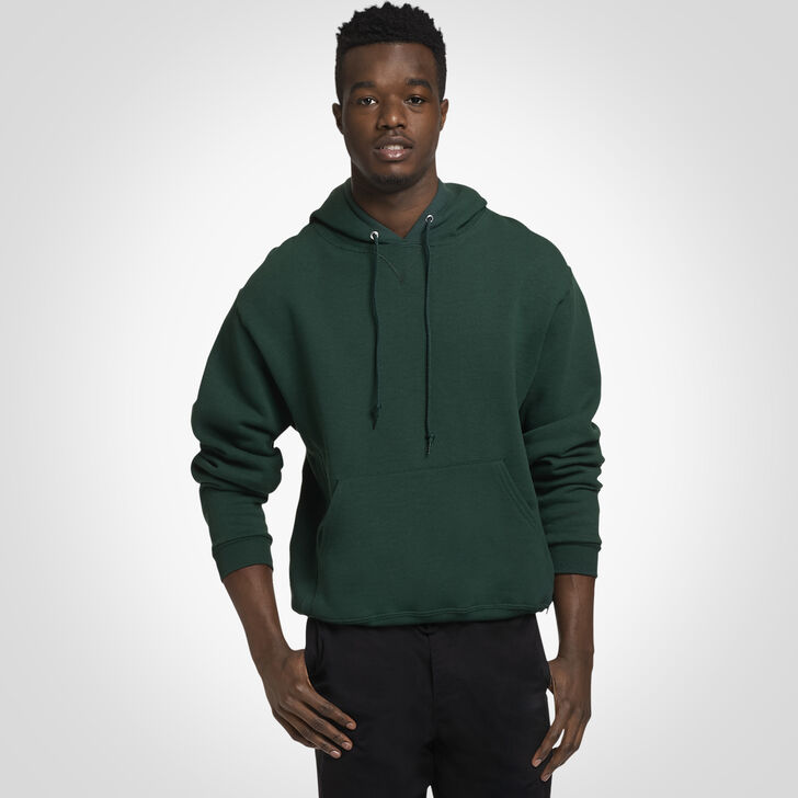Men's Dri-Power® Fleece Hoodie Dark Green