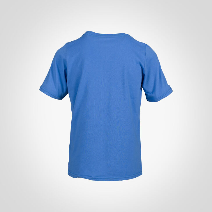 Youth Cotton Performance T-Shirt COLLEGIATE BLUE