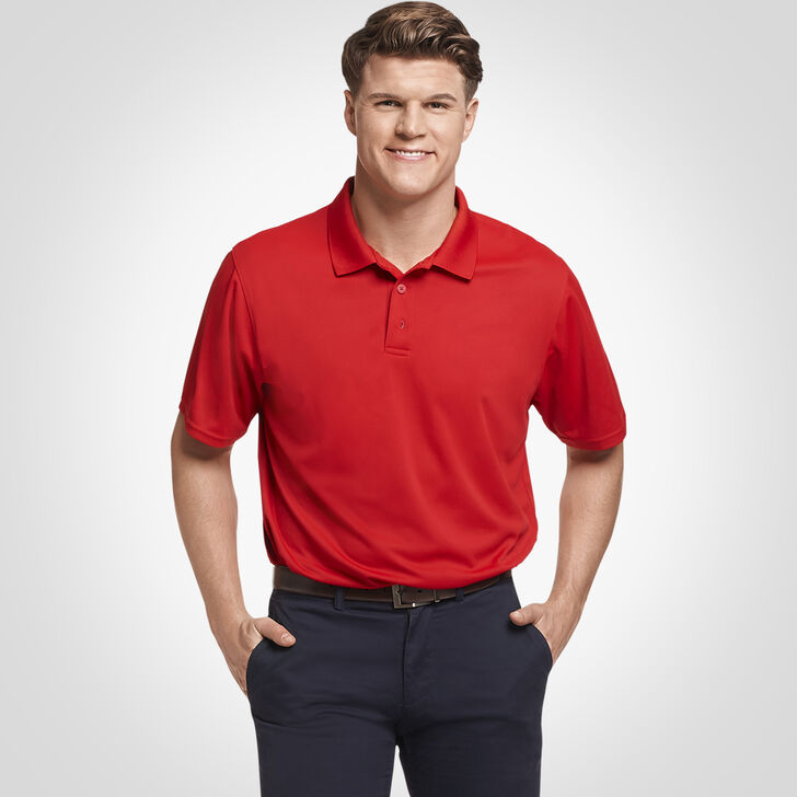 Men's Dri-Power® Performance Golf Polo TRUE RED