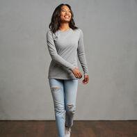 Women's Cotton Performance Long Sleeve T-Shirt Oxford