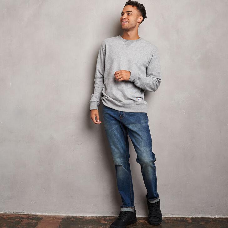Men's Cotton Classic Fleece Crew Sweatshirt OXFORD