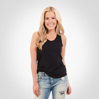 Women's Essential Tank Top BLACK