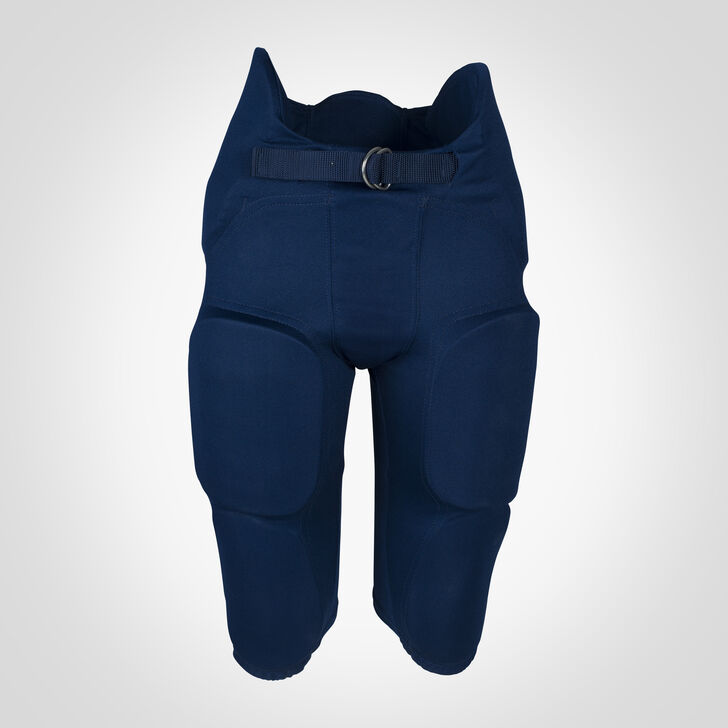 Youth Integrated 7-Piece-Pad Football Pants NAVY