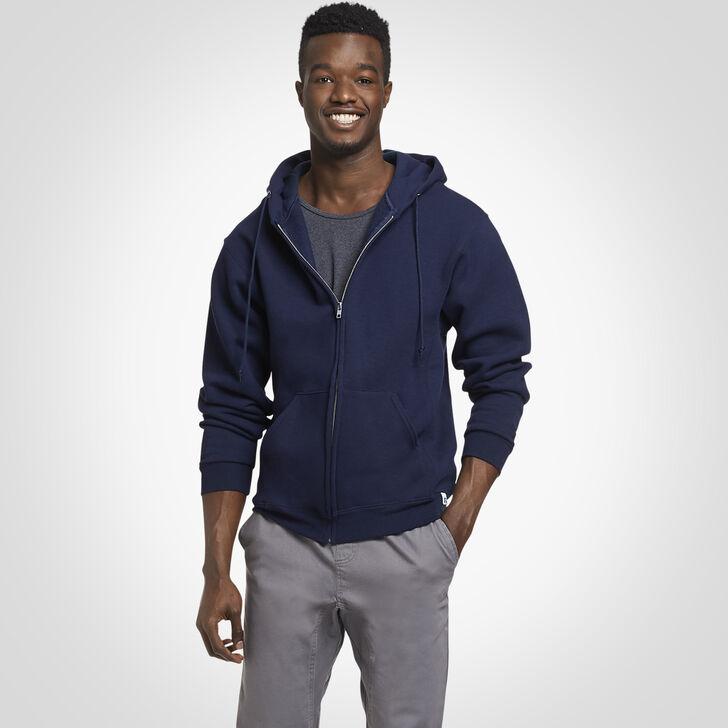 Men's Dri-Power® Fleece Full-Zip Hoodie J.NAVY