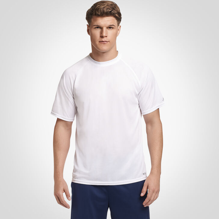 Men's Dri-Power® Mesh Performance T-Shirt WHITE