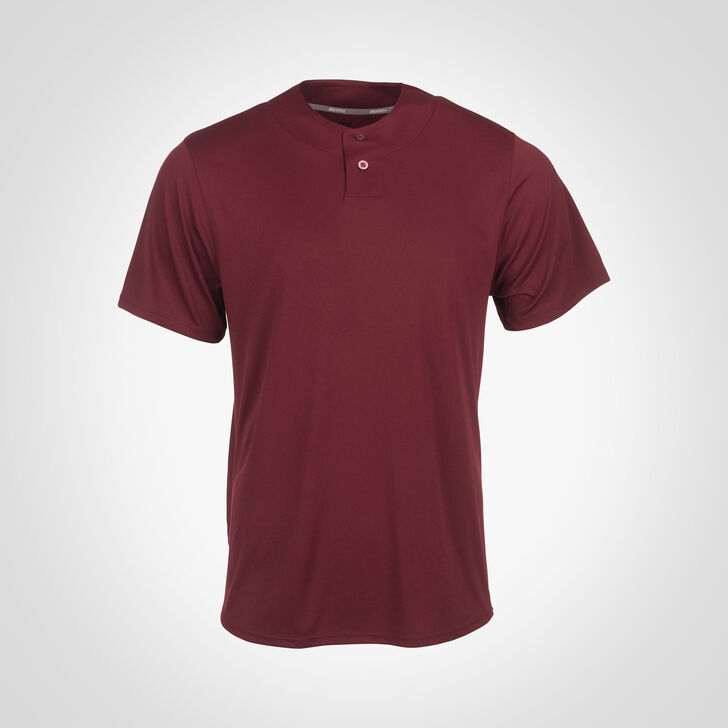 Men's Dri-Power® Solid Baseball Jersey MAROON