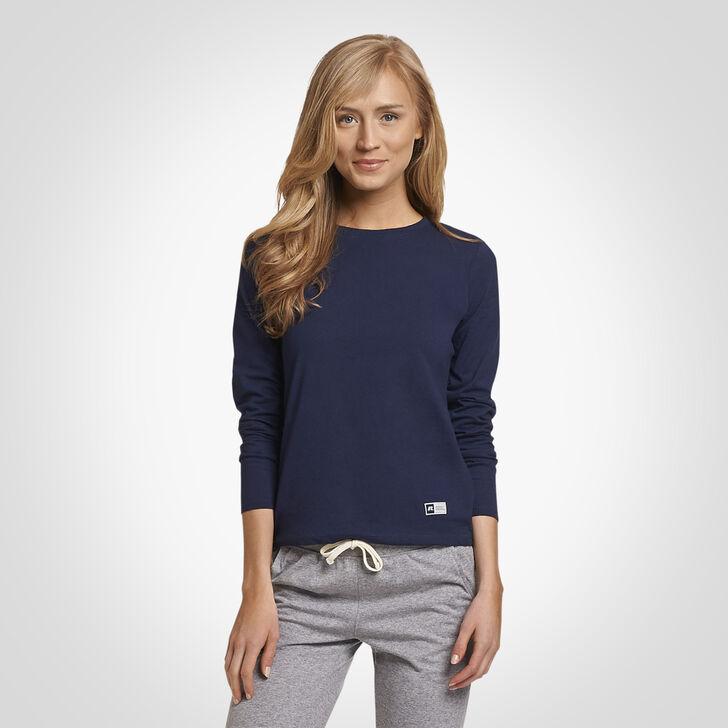Women's Essential Long Sleeve Tee NAVY