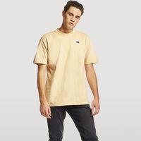 Men's Baseliner Heavyweight Cotton T-Shirt ALMOND