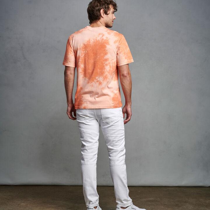 Men's Tie Dye T-Shirt ORANGE