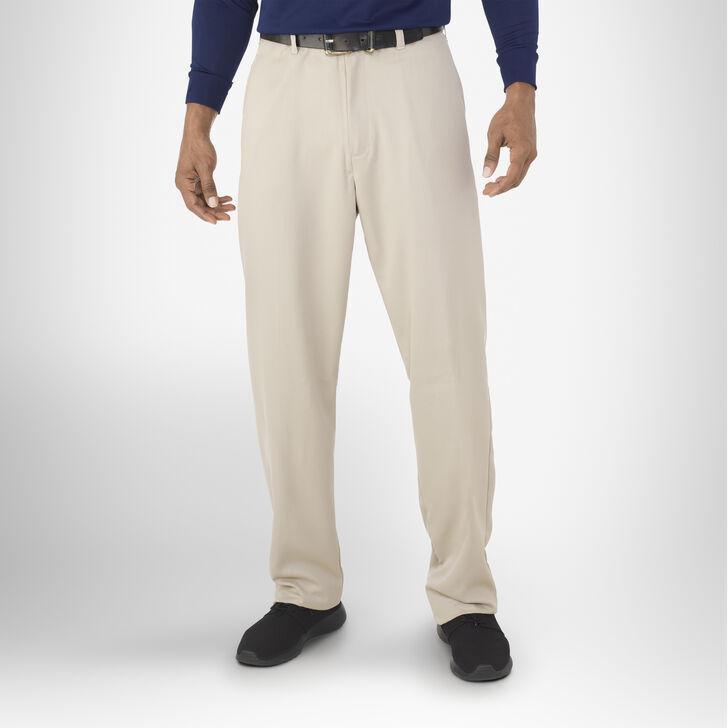 Men's Dri-Power® Flat Front Golf Pants CEMENT