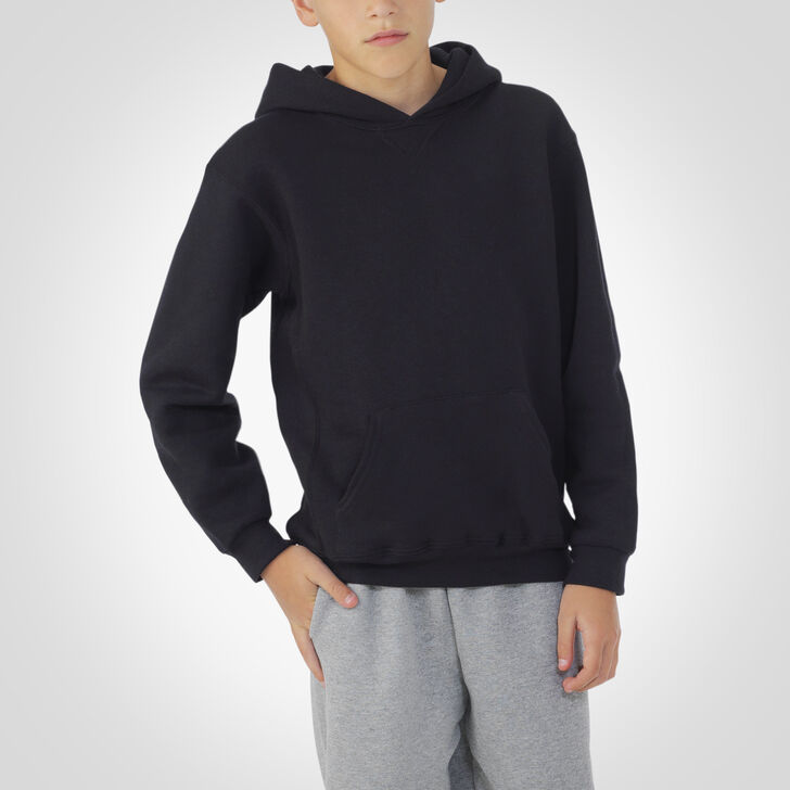 Youth Dri-Power® Fleece Hoodie BLACK