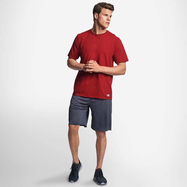 Men's Cotton Performance T-Shirt CARDINAL