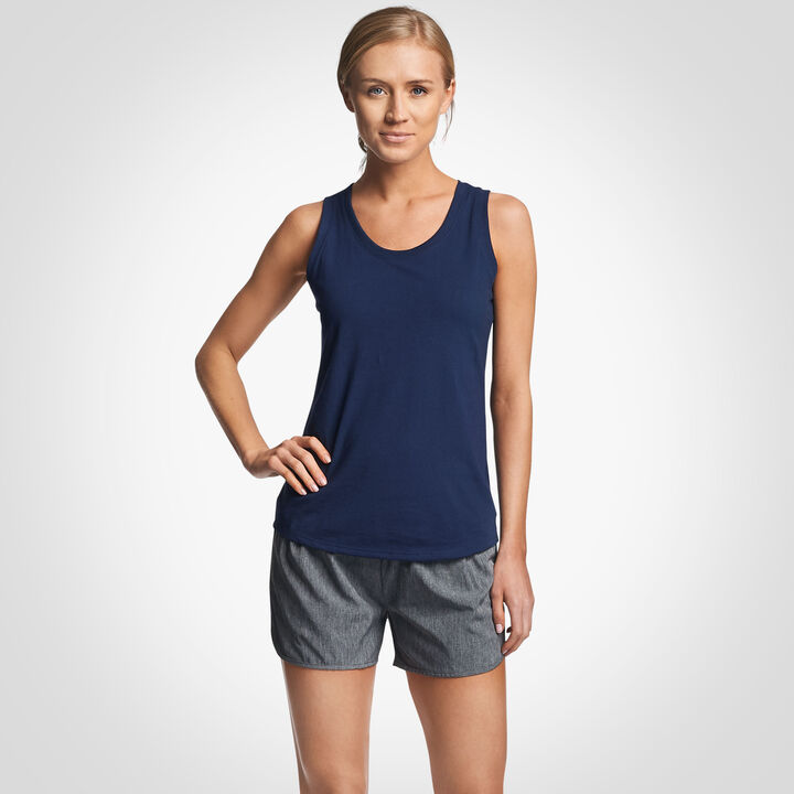 Women's Cotton Performance Tank Top NAVY