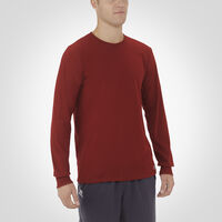 Men's Essential Long Sleeve Tee CARDINAL