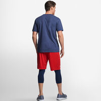 Men's Cotton Performance T-Shirt VINTAGE HEATHER NAVY
