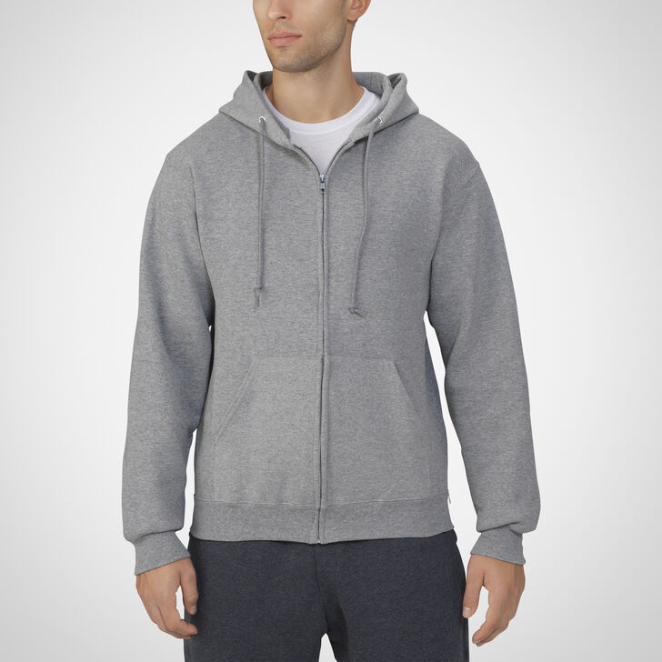 Men's Dri-Power® Fleece Full-Zip Hoodie OXFORD