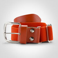Youth Adjustable Baseball/Softball Belt BURNT ORANGE