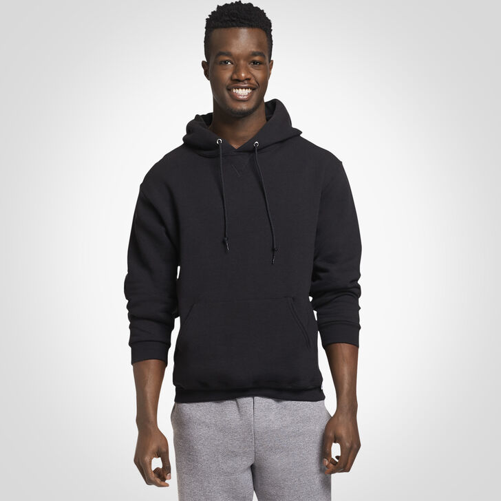 Men's Dri-Power® Fleece Hoodie BLACK