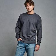 Men's Cotton Classic Fleece Crew Sweatshirt Charcoal Heather