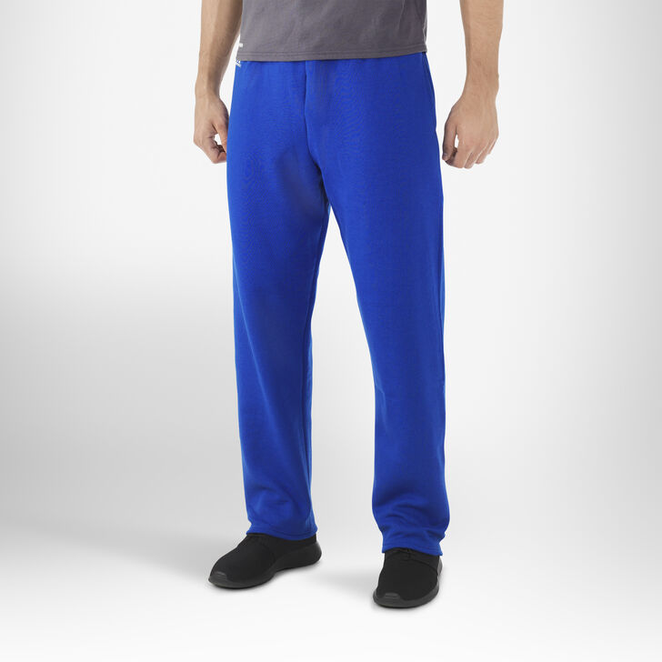 Men's Dri-Power® Open-Bottom Pocket Sweatpants ROYAL
