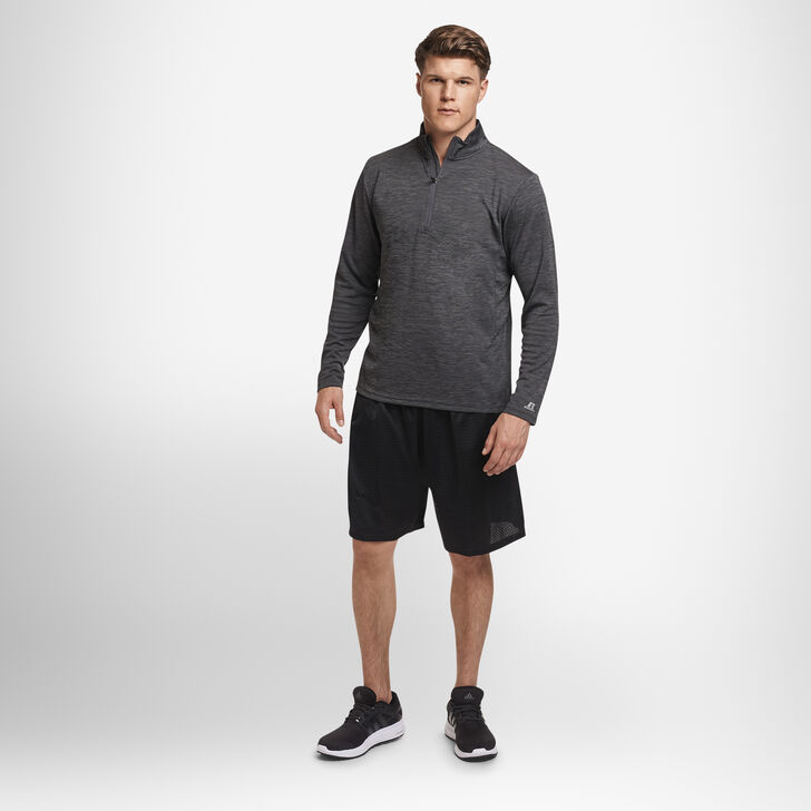 Men's Dri-Power® Lightweight Performance 1/4 Zip STEALTH