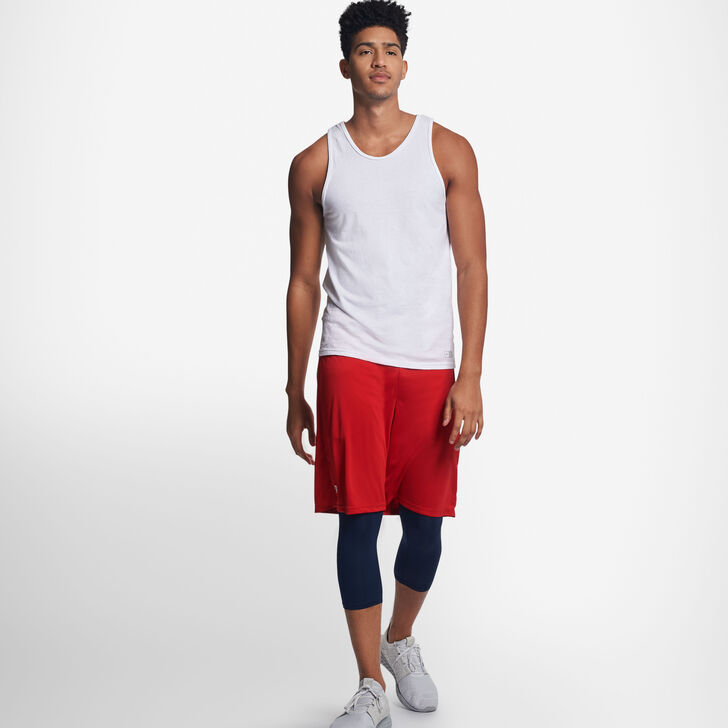 Men's Cotton Performance Tank Top WHITE