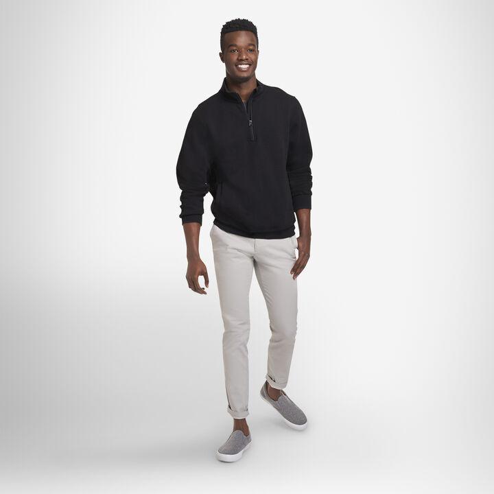 Men's Dri-Power® Fleece 1/4 Zip BLACK