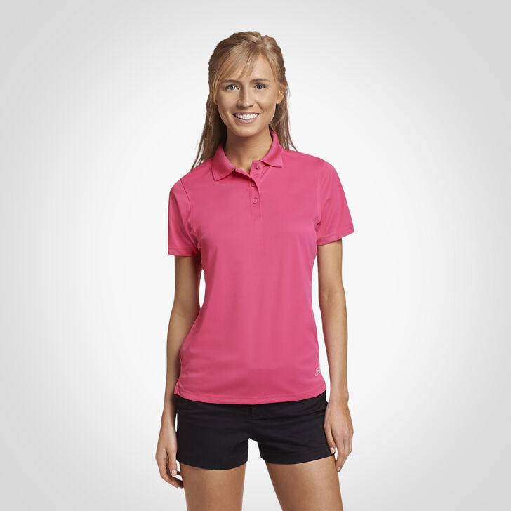 Women's Dri-Power® Performance Golf Polo WATERMELON PINK