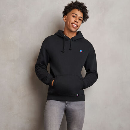 Men's Heritage Fleece Hoodie BLACK