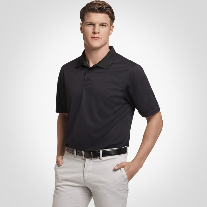 Men's Dri-Power® Performance Golf Polo BLACK