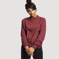 Women's Heritage Fleece Crew Sweatshirt BURGUNDY