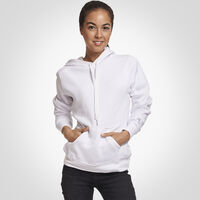 Women's Fleece Hoodie WHITE