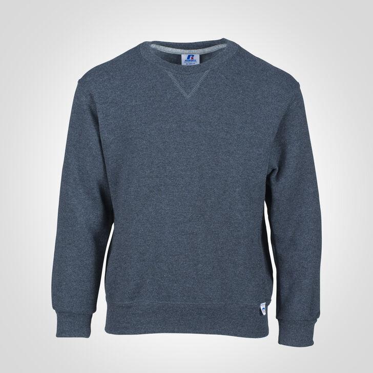 Youth Dri-Power® Fleece Crew Sweatshirt BLACK HEATHER
