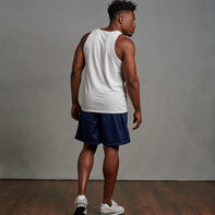 Men's Cotton Performance Tank Top White
