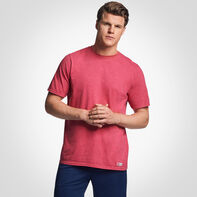 Men's Cotton Performance T-Shirt VINTAGE HEATHER RED