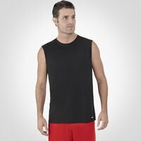 Men's Dri-Power® Performance Mesh Sleeveless Muscle Black