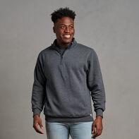 Men's Dri-Power® Fleece 1/4 Zip Black Heather