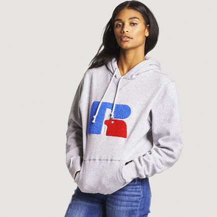 Women's Heritage Chenille Oversized Hoodie OXFORD