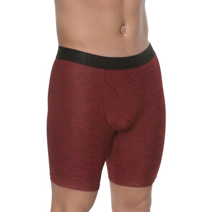 Men's Assorted Freshforce Odor Protection Peformance Boxer Briefs (2 Pack) ASSORTED