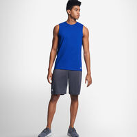 Men's Cotton Performance Muscle Tee ROYAL