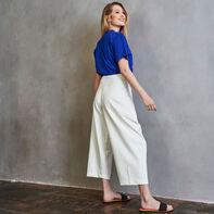 Women's Heritage Mid-Crop Graphic T-Shirt MAZARINE BLUE