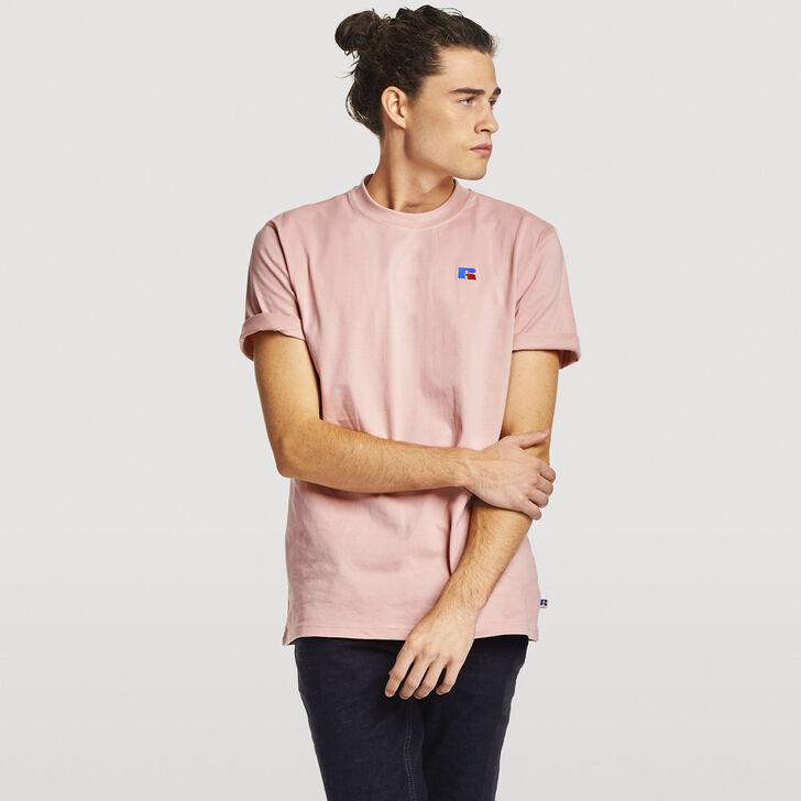 Men's Baseliner Heavyweight Cotton T-Shirt PINK