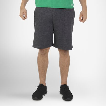Men's Dri-Power® Fleece Training Shorts with Pockets BLACK HEATHER