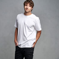 Men's Premium Cotton Classic T-Shirt WHITE