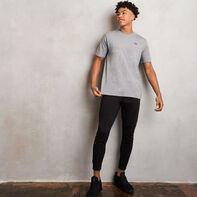 Men's Heritage Baseliner T-Shirt Grey Marl