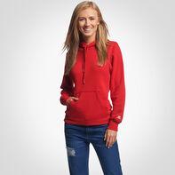 Women's Lightweight Fleece Hoodie TRUE RED
