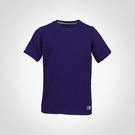 Youth Cotton Performance T-Shirt PURPLE